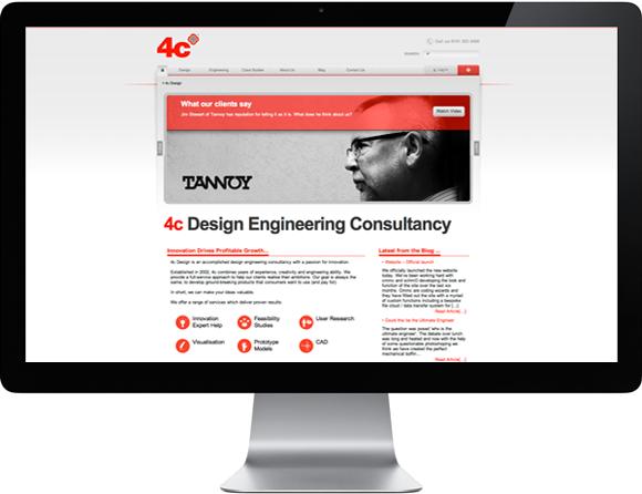 4c design new website