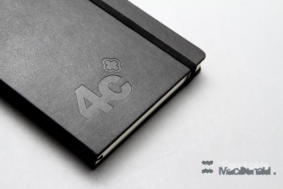 4c Branded Sketch Book