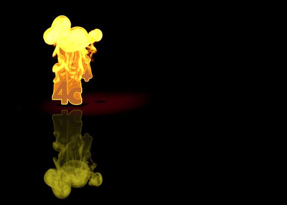 Chris Aldridge - 4c Flaming