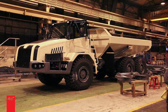 Terex Arctic Truck