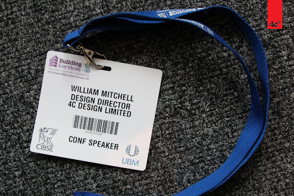 CIBSE event pass 2012