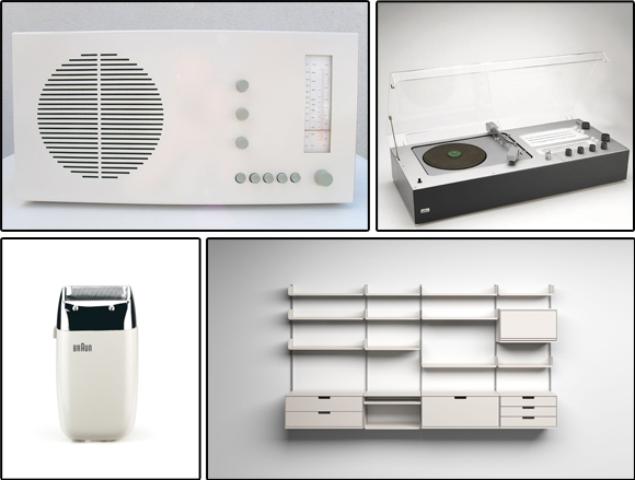 Dieter Rams Designs Collage
