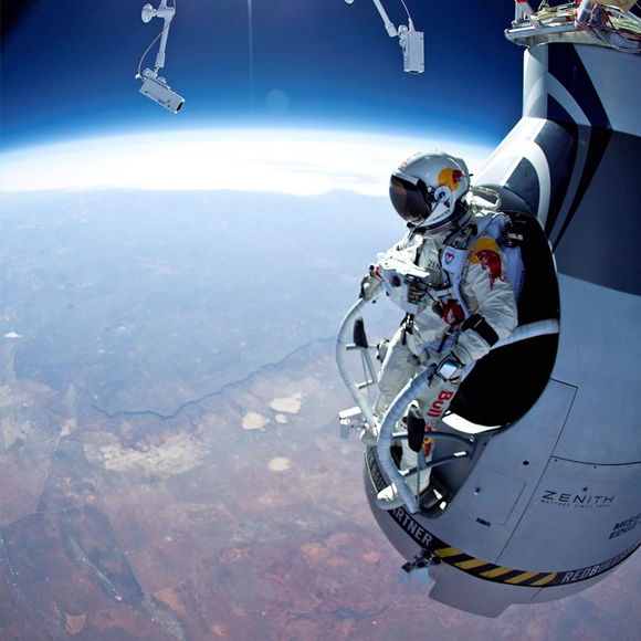 Felix Baumgartner space gondola!