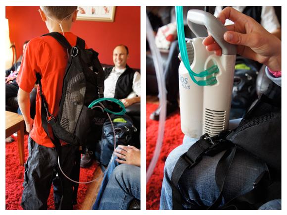 Helios oxygen tank
