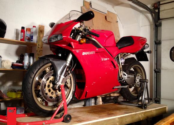 Will's Ducati 748