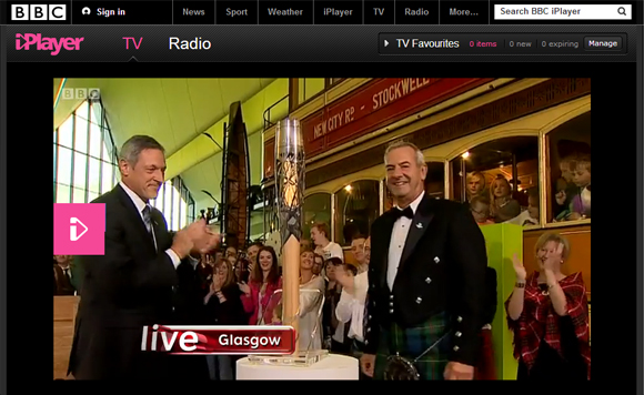BBC iPlayer - Queen's Baton Reveal