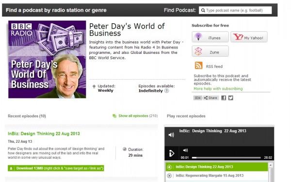 Design Thinking on Radio 4