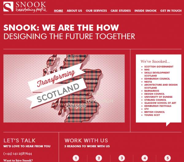 Snook Service Design Scotland