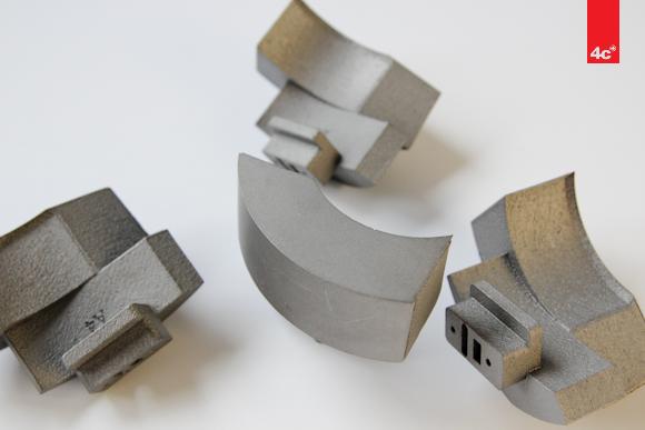 Queen's Baton Titanium Puzzle Arms