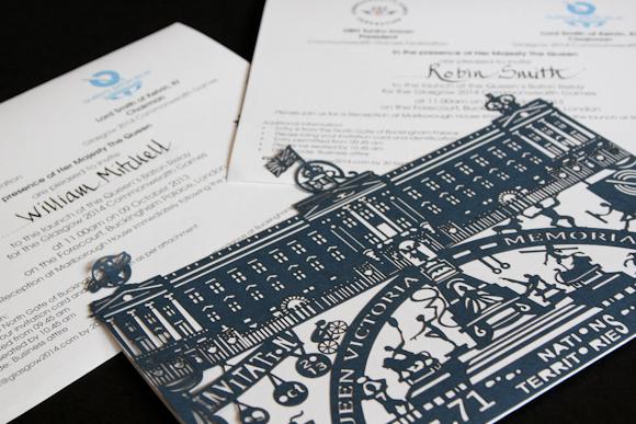 Buckingham Palace Invite