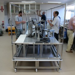Assembling the Bottling Machine in OZ