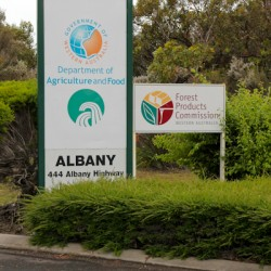 Installed in Albany, Australia