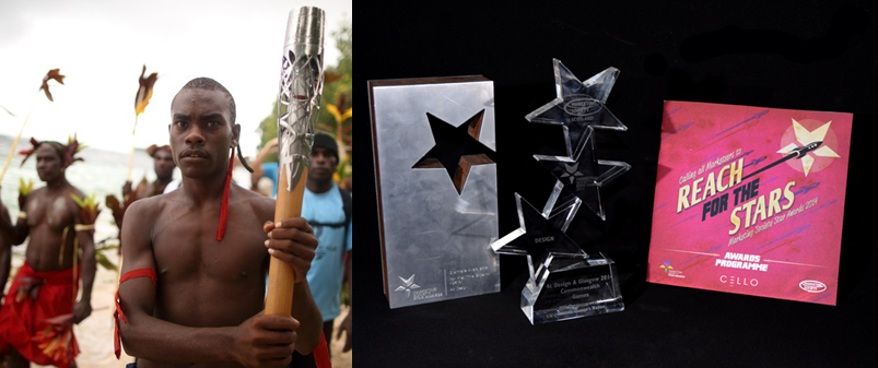 Queen's Baton and STAR awards