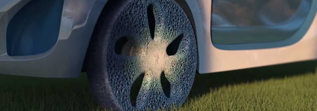 Michelin's Futuristic Airless Tire