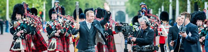 Queen's Baton Relay 2014 Begins