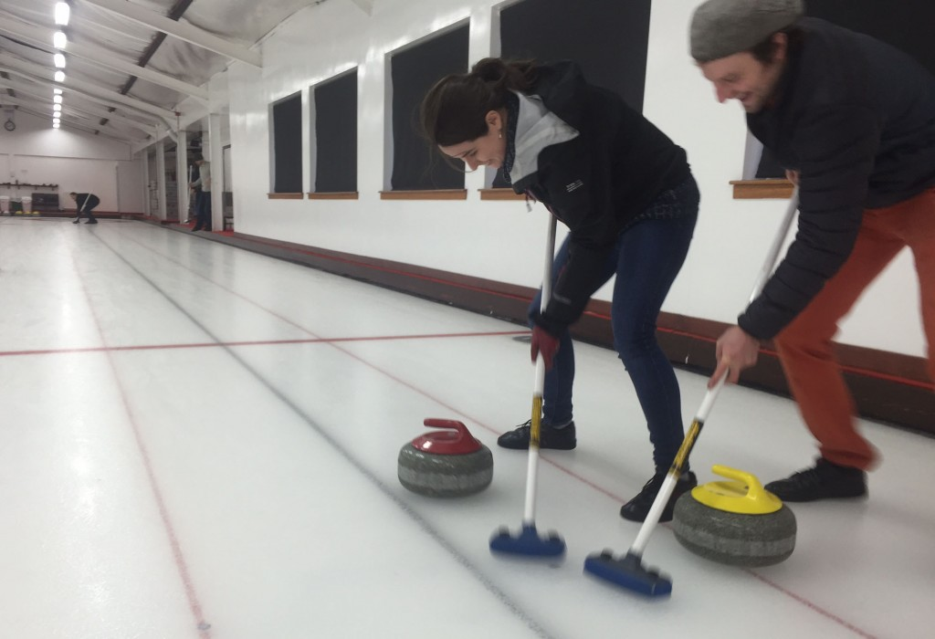 Curling - Seonaid and Misha